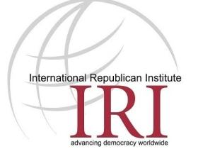 New Job Opportunity At International Republican Institute (IRI) 2020