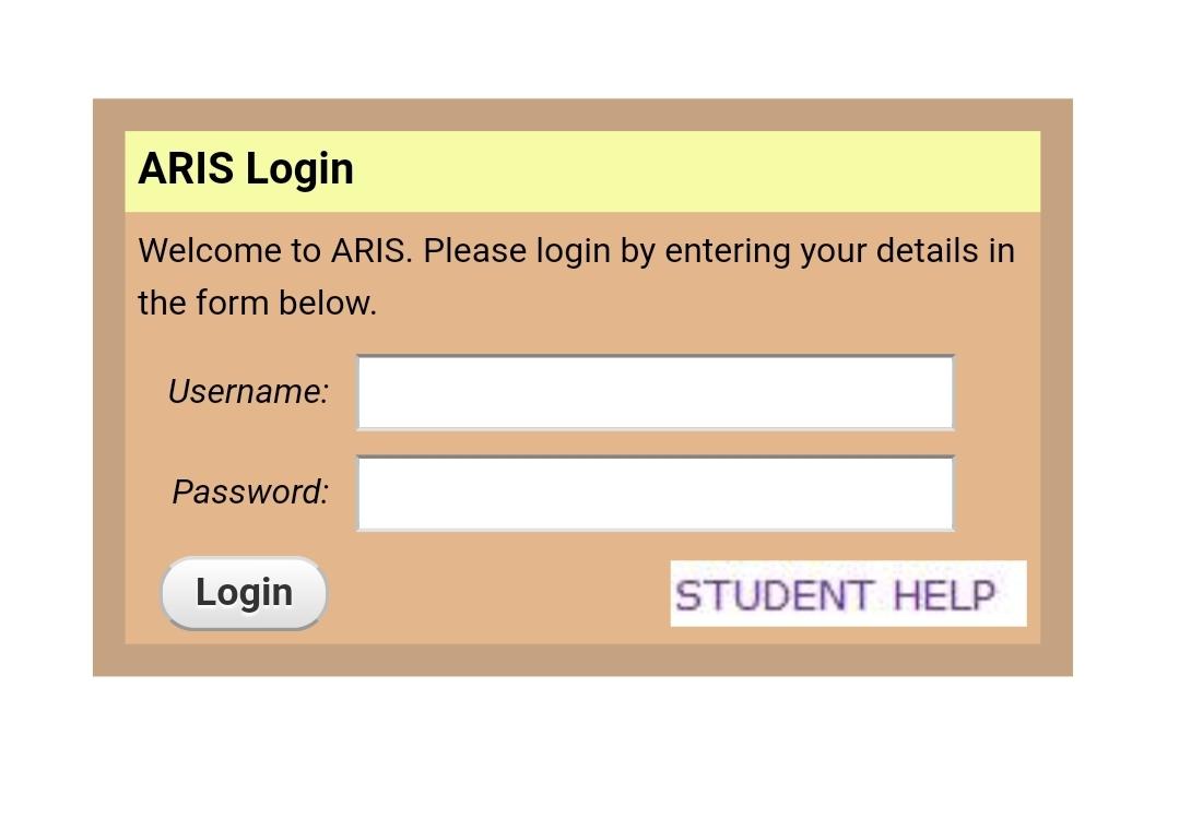 MZUMBE ARIS Login | Mzumbe University ARIS System