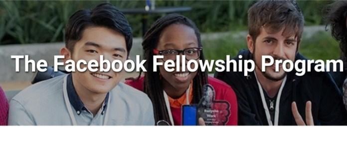 Facebook Fellowship Programme 2022 ($42000 annual stipend)
