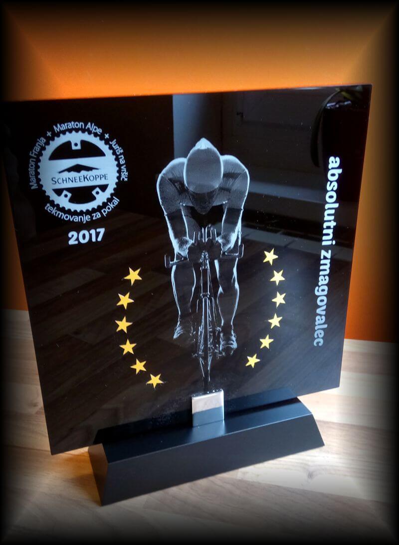Unikaten Pokal za kolesarstvo