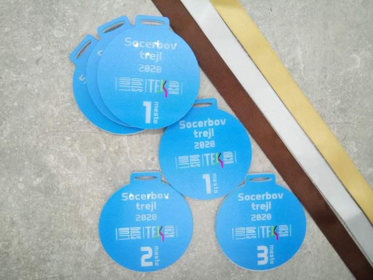 Unikatne medalje za Socerbov trail