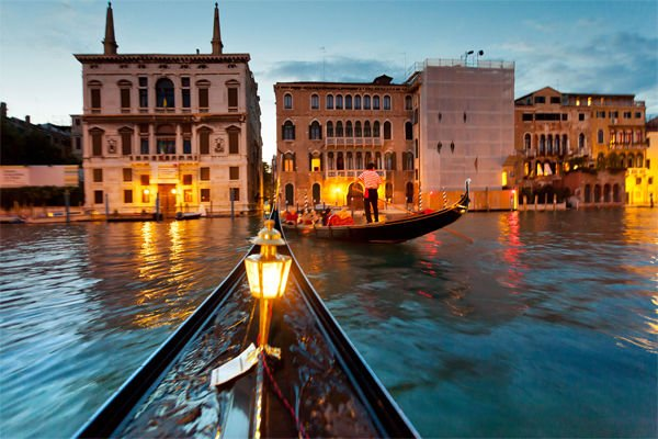Stop thinking about it & take a romantic ride through #Venice @isango...