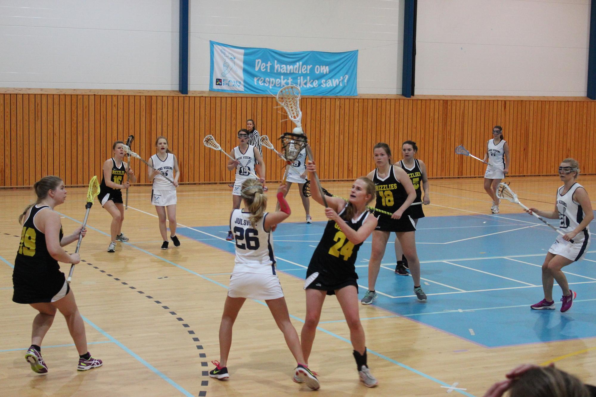 Lacrosse-fest i Grimstad
