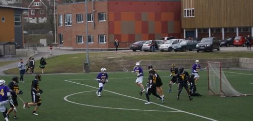 Lacrosse-NM i Grimstad – kanadisk spenning og action i vårkulda