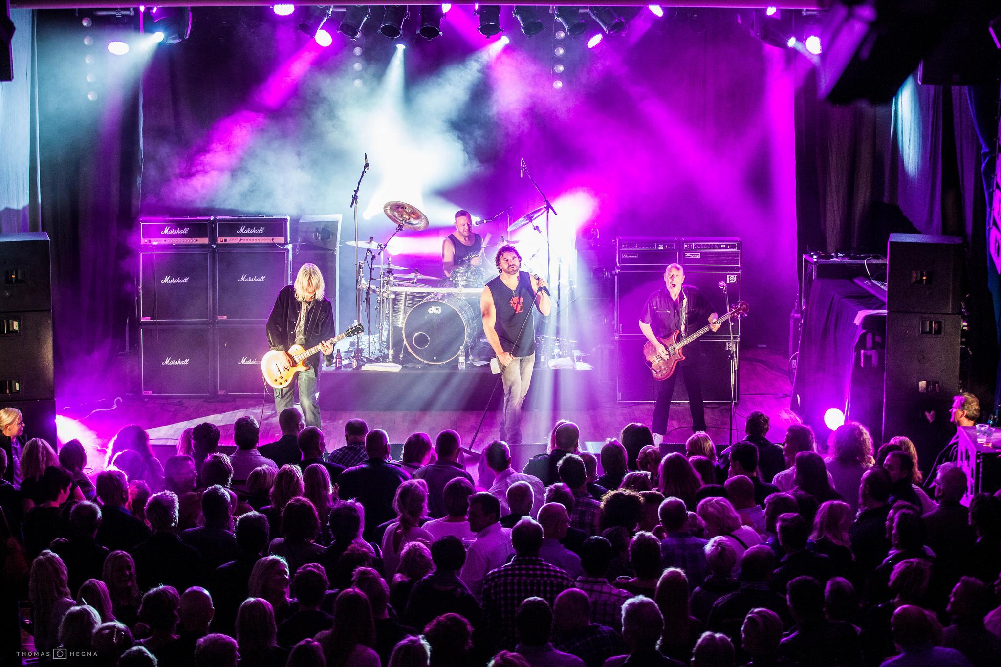 Skotske rockere i sørlandsbyen Kristiansand