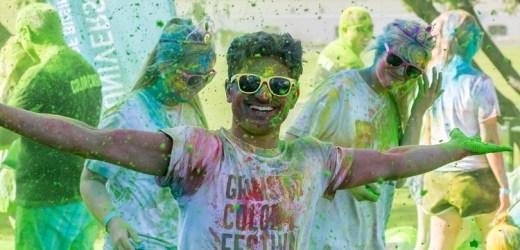 Løper på seg alle verdens farger