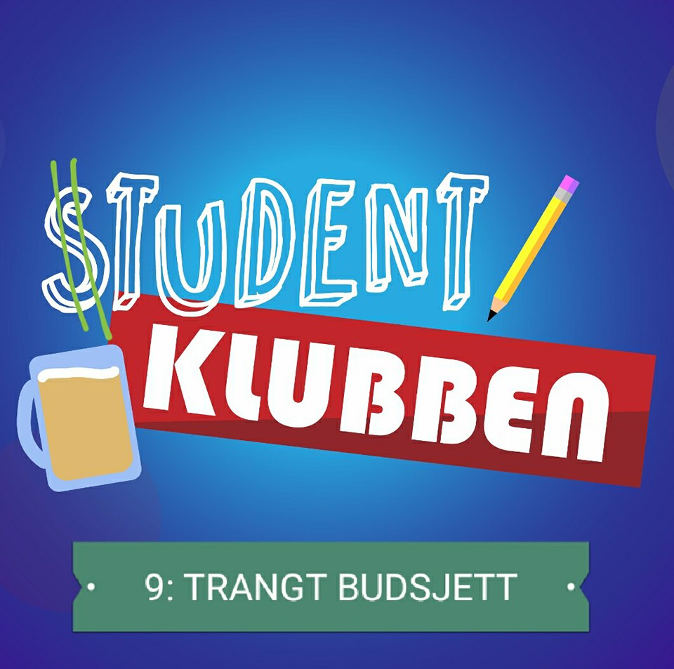 Studentklubben: Trangt budsjett