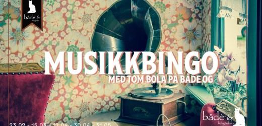 Unikum digger: Musikkbingo på Bakgården Både Og