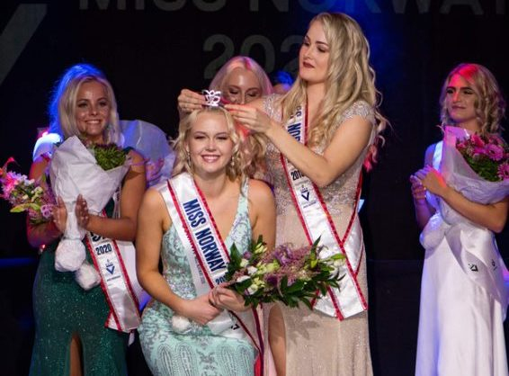 UiA-studentSunniva vant Miss Norway