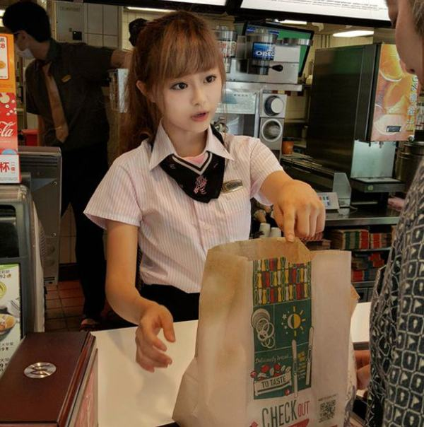 This 'McDonald's Goddess' Has Fans Who Flock To See Her