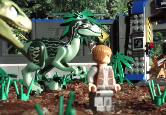 Awesome LEGO Animation Shows Jurassic World In 90 Seconds