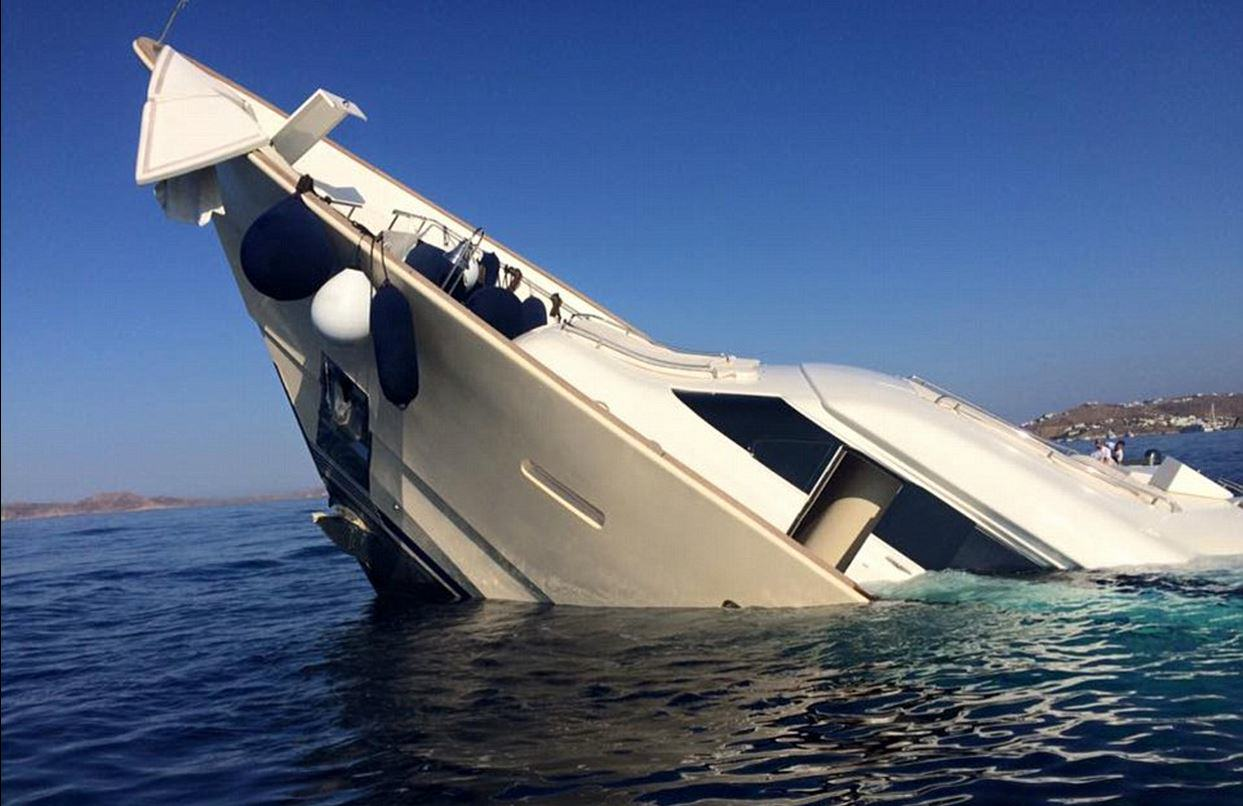 This Incredible 4 Million Yacht Just Sunk And Is Now Destroyed