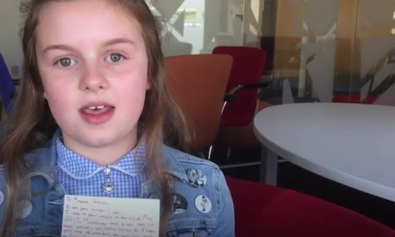 Ten Year Old Girl Caught In Manchester Blast Writes Amazing Letter To Ariana Granda 1 4