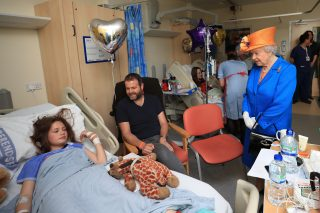 The Queen Visits Injured Victims Of The Manchester Arena Bombing