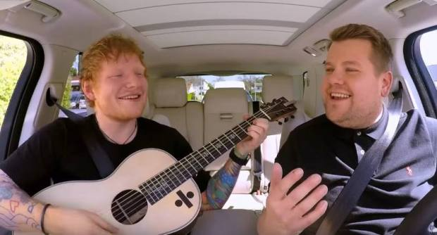 Ed Sheerans Full Carpool Karaoke With James Corden Is Absolutely Class 18983361 10154489691876196 1919319540 n