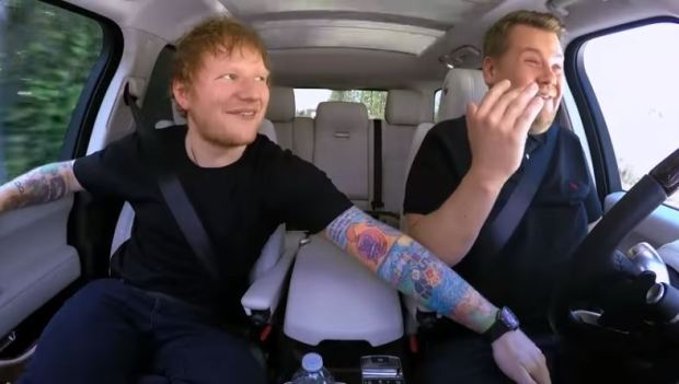 Ed Sheerans Full Carpool Karaoke With James Corden Is Absolutely Class EDcar