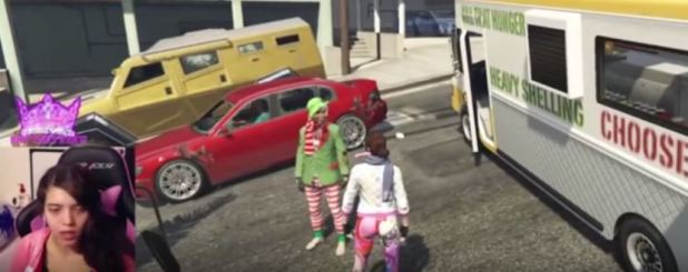 YouTuber Breaks Down In Tears After Being Raped On GTA V During Live Stream BRITTANY 1