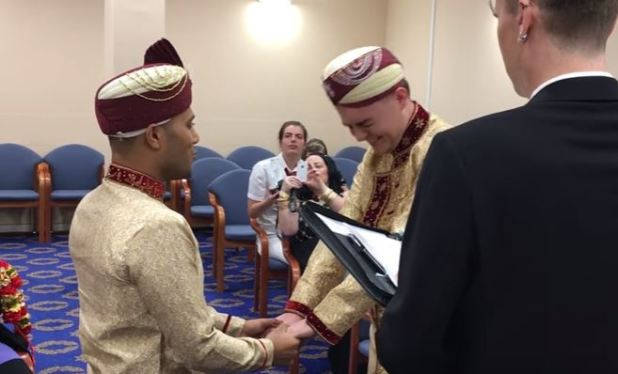 First Ever Same Sex Muslim Wedding Takes Place In The UK Capture 6