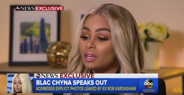 Blac Chyna Reveals Why She Sent Rob A Video Of Her In Bed With Another Man blacChyna e