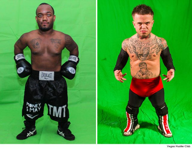 Mini Mayweather Set to Fight Mini McGregor Night Before The Real Thing mini