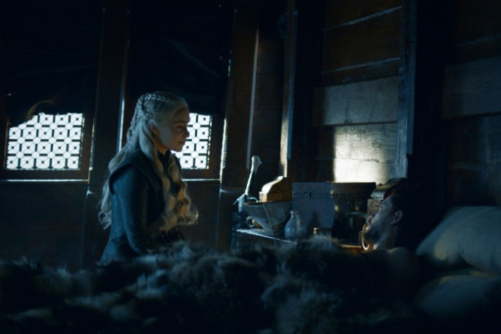 Most F*cked Up Jon And Daenerys Theory Started By George R.R. Martin Himself game of thrones beyond the wall jon snow 06 1