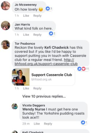 Lonely Disabled Woman Asks For Roast Dinner Companion On Facebook, Gets Hundreds Of Offers Pat3