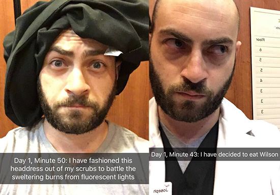 Doctor Stuck In Lift Goes Viral Thanks To Sensational Snapchat Story 50 mins