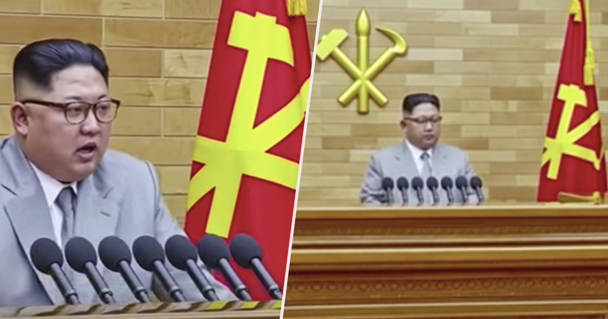Kim Jong un s New Year s Eve Speech Was Bizarre