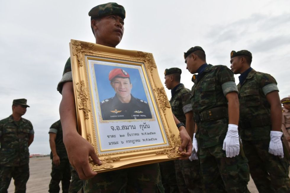 Never Forget Saman Gunan, The Diver Who Died Saving The Boys Trapped In Cave GettyImages 992699840