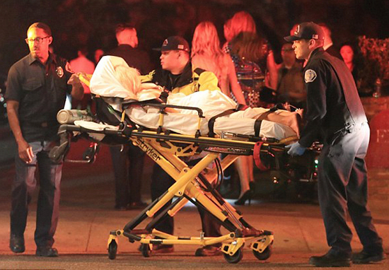 Instagram Model Stretchered Out Of Kylie Jenner S 21st