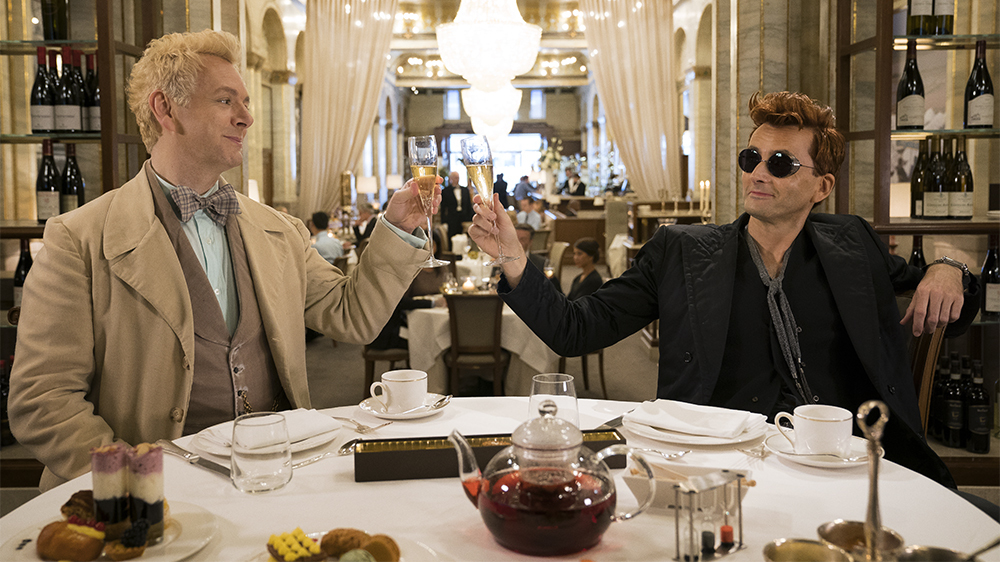 Thousands Petition Netflix To Cancel Good Omens But It's On Amazon Prime