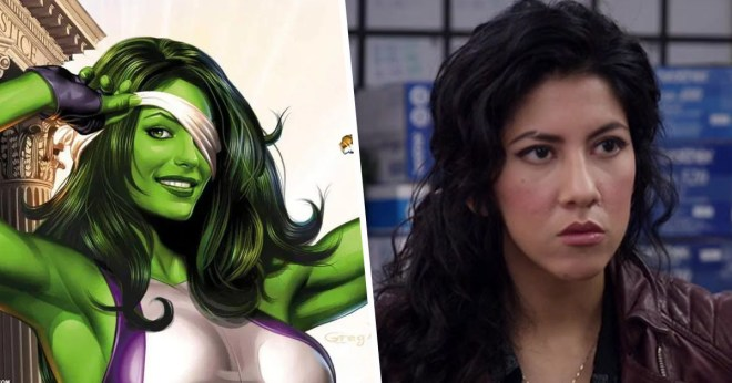 Stephanie Beatriz Rosa Diaz She-Hulk