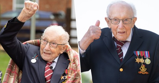 Captain Tom Moore To Be Knighted For Raising £33 Million ...
