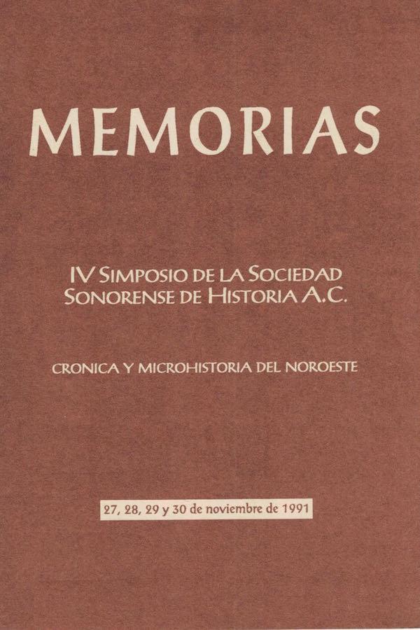 Simposio 04. Crónica Y Microhistoria Del Noroeste