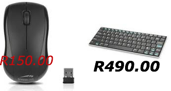 Wireless Mouse and Keyboard