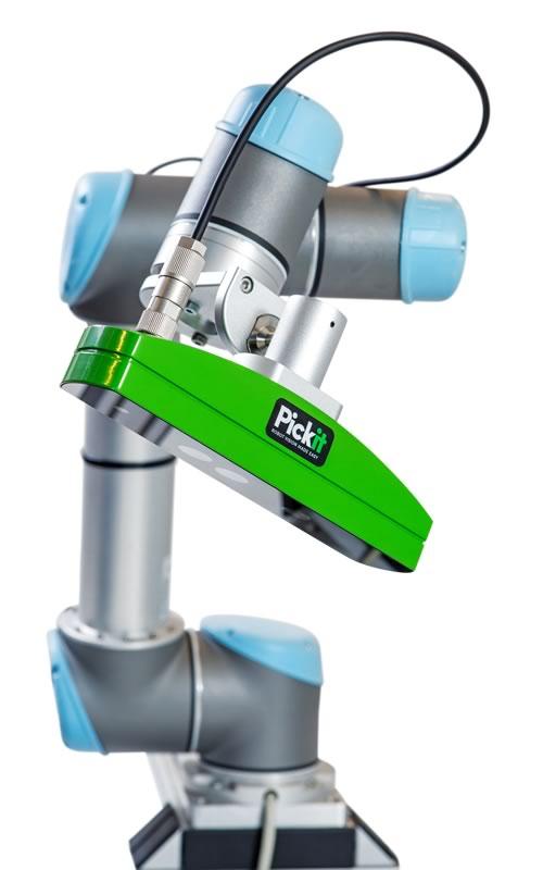 Pickit 3D integrato a UR5