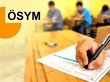 2018 Osym Sınav Takvimi