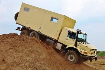 Mercedes-Benz Special Trucks auf der ABENTEUER & ALLRAD