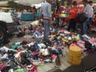 Schuhe in Tepito....