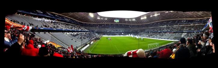 1860 München - small crowd in a big arena