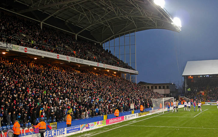 Holmesdale stand at Selhurst Park