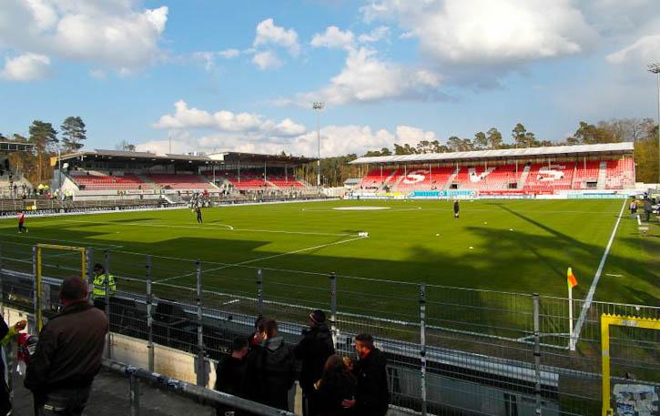 Sunny Sandhausen ground