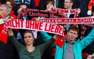 Union fans before kick-off