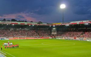 Full terraces vs. Paderborn