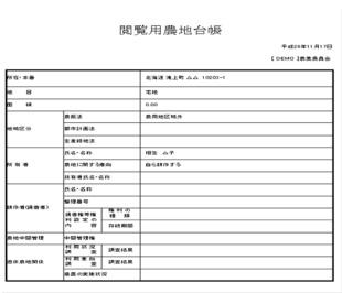 ITソリューション事例 2 農地臺帳システムとその活用例|ユニオンデーターシステム株式會社
