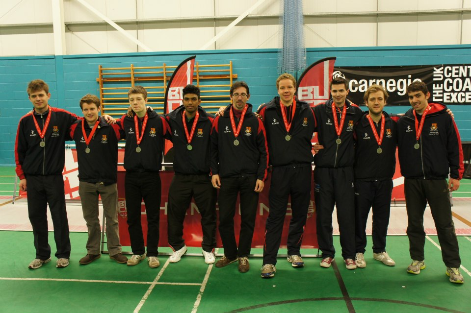 Men's 1st Silver medalists