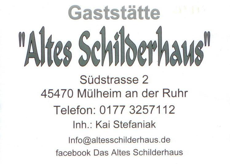 Schilderhaus – Volle Hütte anne Süd