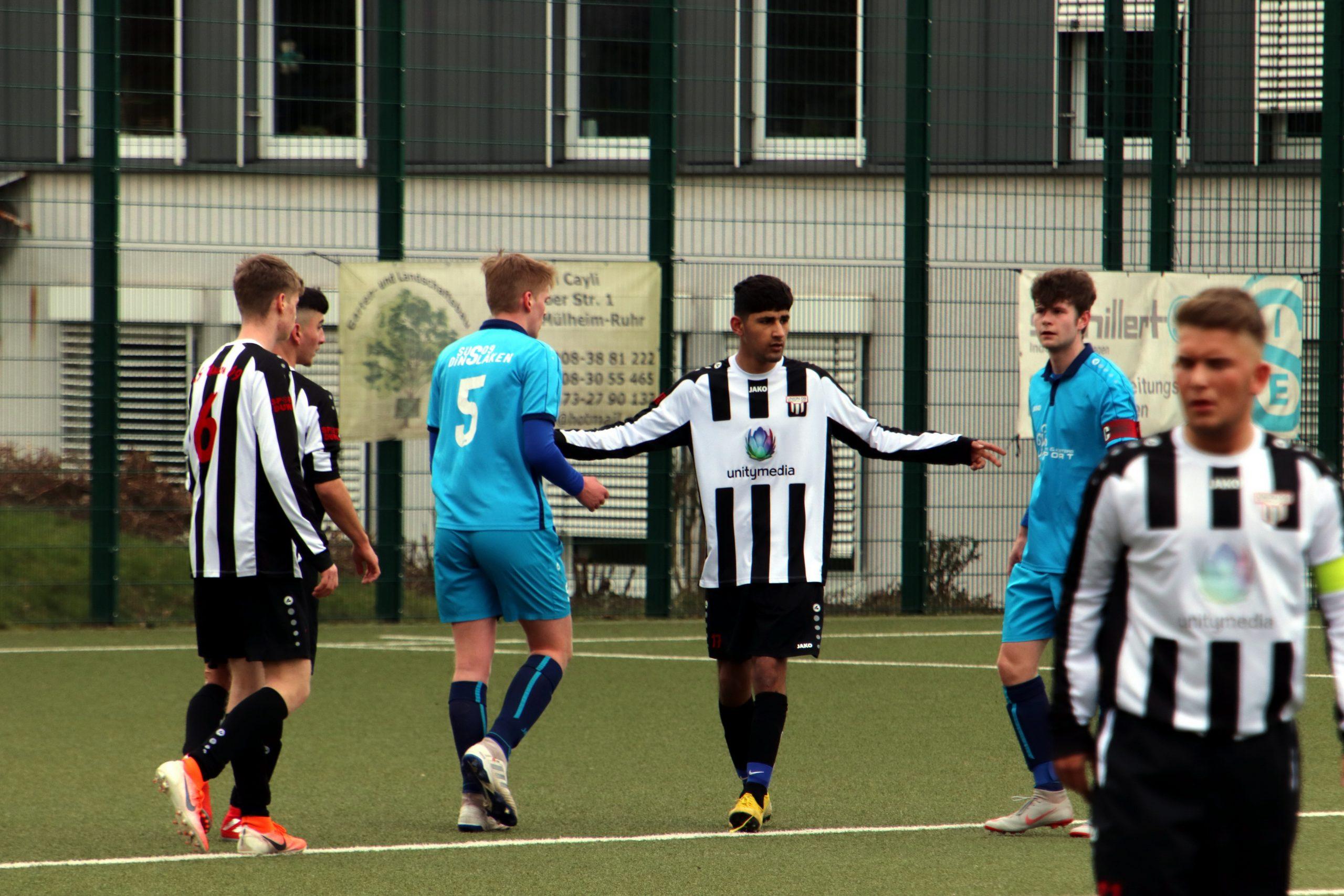 A-Jugend – verliert knapp ihr Heimspiel letzten Samstag gegen SuS 09 Dinslaken