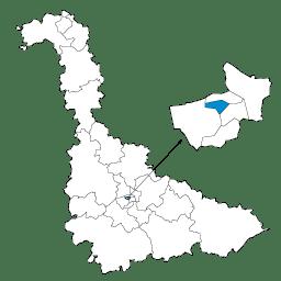 Carte : le canton de Nancy 1 dans la Meurthe-et-Moselle