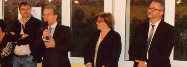 Thibault BAZIN à la remise des diplômes du brevet au collège de l'Euron à Bayon